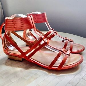 Coach Nillie Gladiator Leather sandals